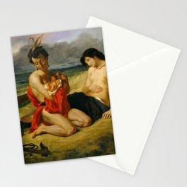 """Eugène Delacroix """"Les Natchez"""" (1835) Stationery Cards"""