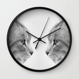 For those cat lovers out there!  Wall Clock