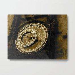Tick, Tick, Tick Metal Print