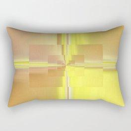 Yellow Glass Rectangular Pillow