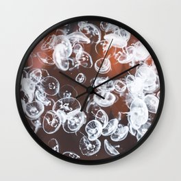 Electric Jelly fish Wall Clock