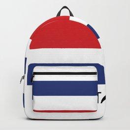 costa rica flag Backpack