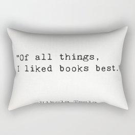 Superquote Rectangular Pillow