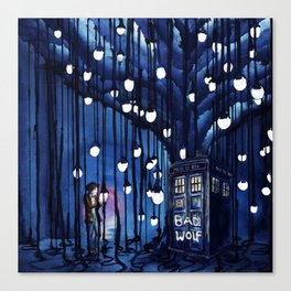 Doctor Who Journey Canvas Print