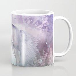 Einhorn mit Blumen und Sternen Coffee Mug