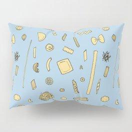 Pasta pattern blue Pillow Sham
