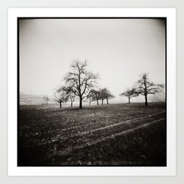 { skeleton trees } Art Print