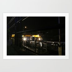 Come On Board Art Print