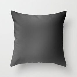 Blacky Shady Throw Pillow