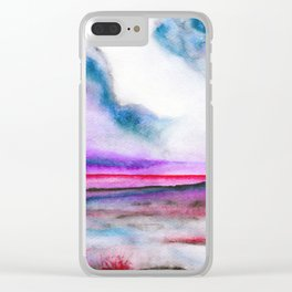 Abstract nature 10 Clear iPhone Case