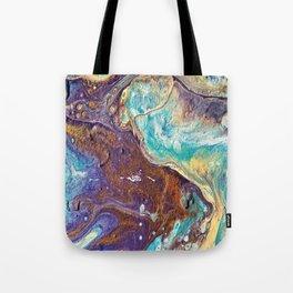 Copper Love Geode Tote Bag