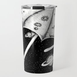 There is no rain on the moon Travel Mug