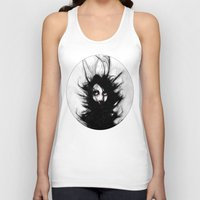 wrestling Tank Tops featuring Coiling and Wrestling. Dreaming of You by Rouble Rust