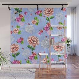 Spring Blooms Wall Mural