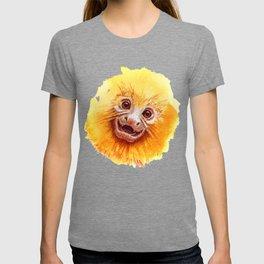 Golden Lion Tamarin Monkey baby smiling T-shirt
