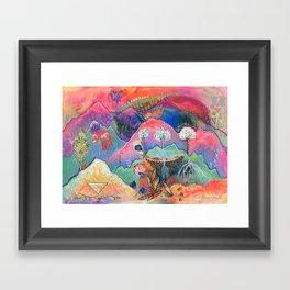 Family Forever Framed Art Print