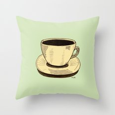 good ol' cup of coffee, I. Throw Pillow