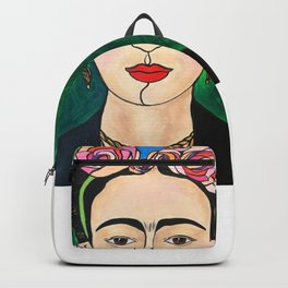 Frida Khalo Portrait Backpack