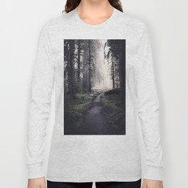 Magical Washington Rainforest Long Sleeve T-shirt