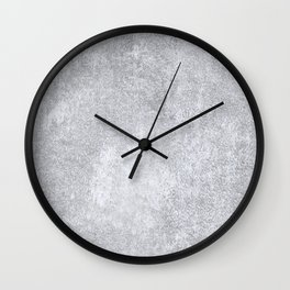 Abstract silver paper Wall Clock