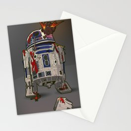 R2-D2 Zombie Stationery Cards