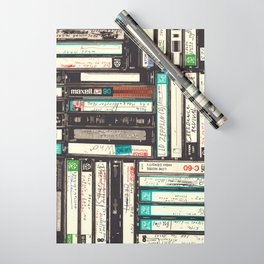 Cassettes Wrapping Paper