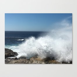 Pacific Splash Canvas Print