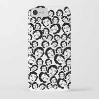 women iPhone & iPod Cases featuring Women by Emmanuelle Ly