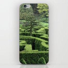 Garden Maze iPhone Skin