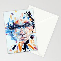 She slowly crumbles Stationery Cards