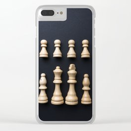 Ches4 Clear iPhone Case