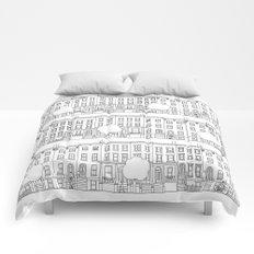 blocks of Brooklyn Comforters