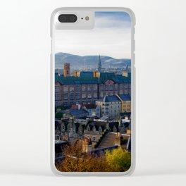Edinburgh Sunrise Clear iPhone Case