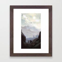 Throat of the World Framed Art Print