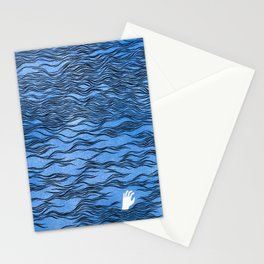 Man & Nature - The Dangerous Sea Stationery Cards