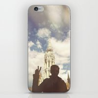 budapest iPhone & iPod Skins featuring Budapest by BriAnneWills