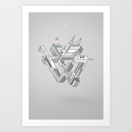 Penrose Manifold Art Print