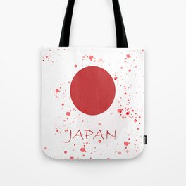 japon rising sun Tote Bag