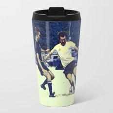The Challenge - Soccer Players Travel Mug