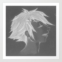 Light As A Feather (Inverted) Art Print