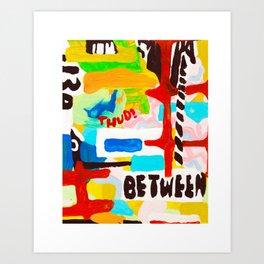 Falling and Screaming Art Print