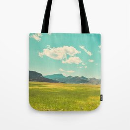 Rocky Mountain Meadow Tote Bag