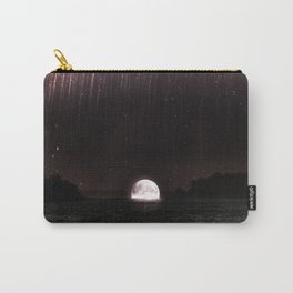moon sets, rain falls Carry-All Pouch