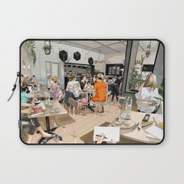 Coracle Cafe Laptop Sleeve