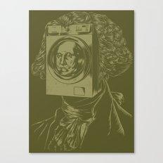 George WASHINGton Machine Canvas Print