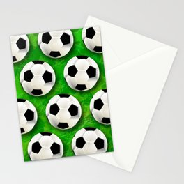 Soccer Ball Football Pattern Stationery Cards