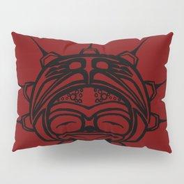 Ink Frog Blood Pillow Sham