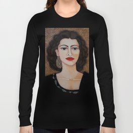 Amalia Rodrigues – Music born in the soul Long Sleeve T-shirt