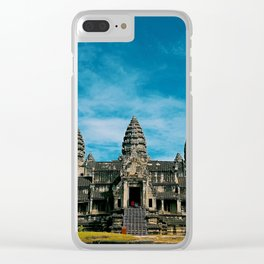 Angkor Wat Temple Cambodia Clear iPhone Case