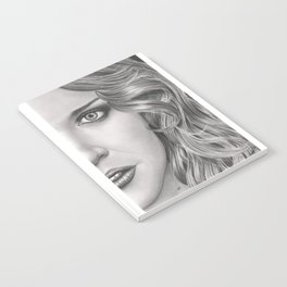 Half Portrait Notebook